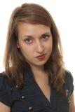 Jeune femme arrogante Photographie stock