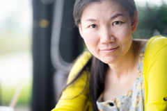 Jeune femme asiatique Photographie stock