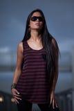 Jeune femme attirant d'Asiatique d'années '20 Image libre de droits