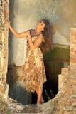 Jeune femme attirante Image stock