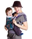 Jeune femme avec l'enfant photo libre de droits