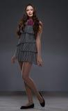Jeune femme avec le long cheveu photographie stock