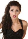 Jeune femme bien disposée Photo stock