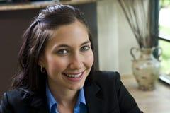 Jeune femme d'affaires Images stock