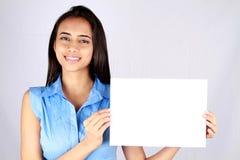 Jeune femme d'affaires. Images stock