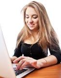 Jeune femme d'affaires Photo libre de droits