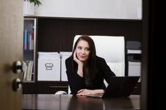 Jeune femme d'affaires image libre de droits