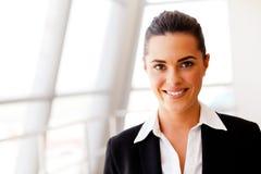 Jeune femme d'affaires attirante Images libres de droits
