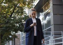 Jeune femme d'affaires Portait Image libre de droits