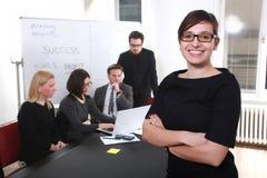 Jeune femme d'affaires réussie Photographie stock