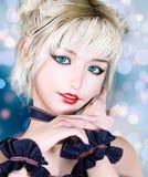 Jeune femme 3D de portrait Photos stock