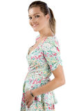 Jeune femme dans la robe d'été Photographie stock