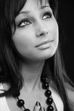 Jeune femme de beauté Image libre de droits