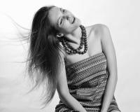Jeune femme de beauté (photo d'art) Image libre de droits