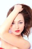 Jeune femme de brunette Image stock