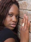 Jeune femme de couleur Photographie stock libre de droits