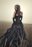 Jeune femme de goth Images libres de droits
