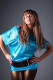Jeune femme de mode Photo libre de droits