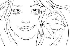 Jeune femme de redhair Images libres de droits