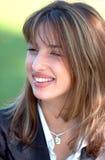 Jeune femme de sourire Photos libres de droits