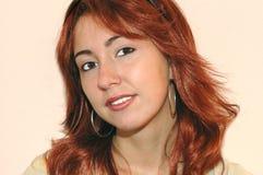 Jeune femme de sourire Photo stock
