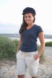 Jeune femme de sourire Image stock