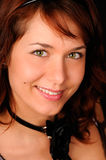 Jeune femme de sourire Images stock