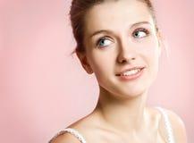 Jeune femme de verticale Photo libre de droits