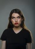 Jeune femme ennuyée images libres de droits