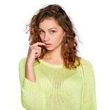 Jeune femme excentrique Photographie stock libre de droits