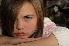 Jeune femme fâchée Photos stock