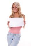 Jeune femme heureuse photographie stock libre de droits