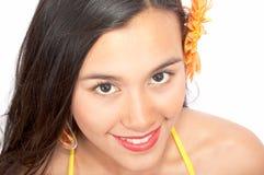 Jeune femme heureuse Image stock