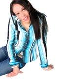 Jeune femme hispanique photos stock