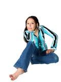 Jeune femme hispanique Images stock