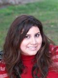 jeune femme hispanique de Plus-taille Images libres de droits