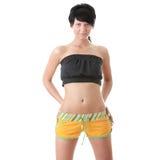 Jeune femme mince de forme physique Photo libre de droits