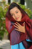 Jeune femme musulmane Image stock
