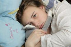 Jeune femme pleurante Photo libre de droits