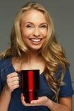 Jeune femme positive photos stock
