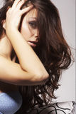 Jeune femme preatty Photos stock