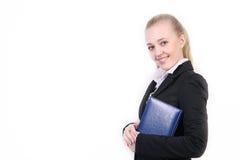 Jeune femme réussie d'affaires photo stock