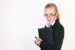 Jeune femme réussie d'affaires photo libre de droits