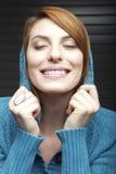 Jeune femme radiante Image stock