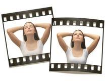 Jeune femme recherchant Photo libre de droits