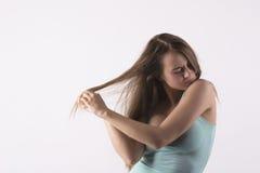 Jeune femme sensuelle photo libre de droits