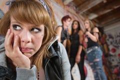 Jeune femme seule Photos libres de droits