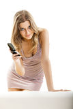 Jeune femme sexy Photographie stock libre de droits