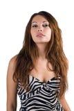 Jeune femme sexy de beauté Images stock