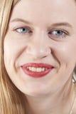 Jeune femme smiling.GN Photo libre de droits